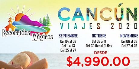 Cancún 2020 boletos