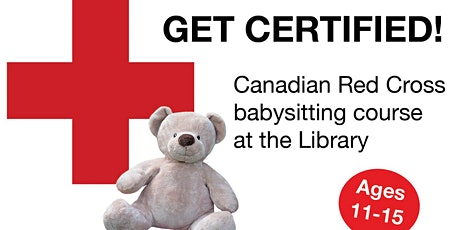 Red Cross Babysitting Course (Central Library) tickets