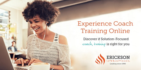 Experience Coach Training Online Free Webinar Tickets