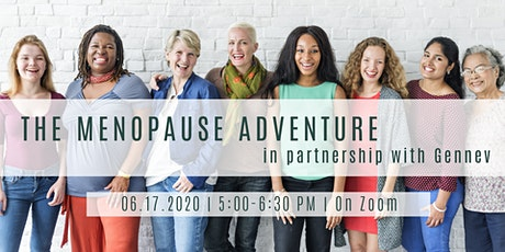 The Menopause Adventure in partnership with Gennev tickets