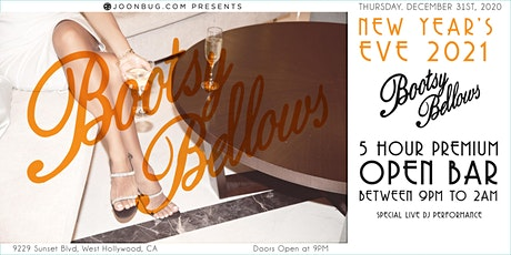 Bootsy Bellows NYE '21 | NEW YEAR'S EVE PARTY tickets