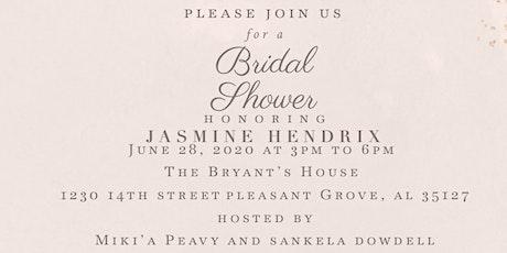 Jasmine's Bridal Shower  tickets