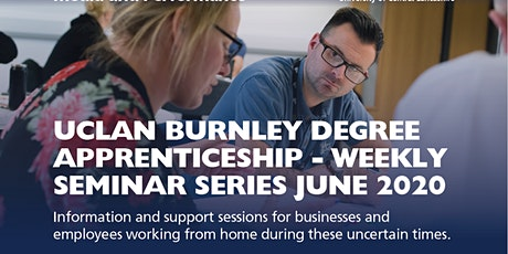 UClan Burnley Campus June Weekly Seminar Series hosted on MSTeams tickets
