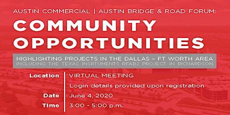 "Austin ""Virtual"" Community Opportunities Forum tickets"
