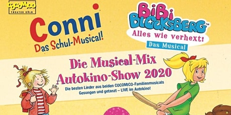 Bibi Blocksberg & Conni-Musical Autokino Mix-Show 2020 Tickets