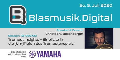 Trumpet Insights - Christoph Moschberger (72-050720) Tickets