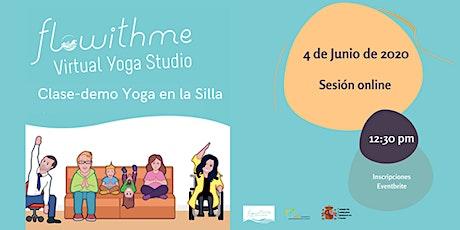 Clase-demo de Yoga en la Silla entradas