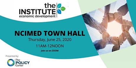 NCIMED Town Hall tickets