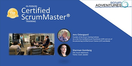 Certified ScrumMaster® Training  August 10-1`1, Long Beach | Scrum & Fun! tickets