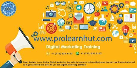 Online 2 Days Digital Marketing Live Virtual Classroom Training® in Birmingham, AL | ProlearnHUT tickets