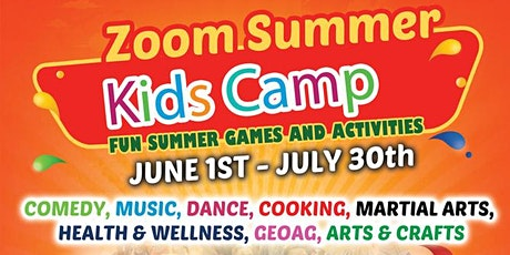K.E.E.P SAFE VIRTUAL SUMMER CAMP tickets