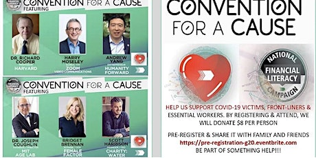 CONVENTION FOR A CAUSE PRE-REGISTRATION tickets