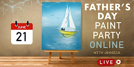 Father's Day Paint Party Online with Jessica tickets
