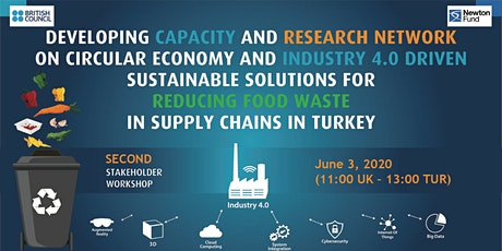 Circular and Industry 4.0  for Reducing Food Waste in Food Supply Chains tickets