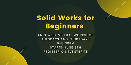 Solid Works for Beginners tickets