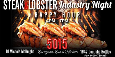 Steak and Lobster Tuesday - May 26th tickets