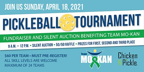 Pickleball Tournament and Silent Auction Fundaiser  benefitting Team MO-KAN tickets