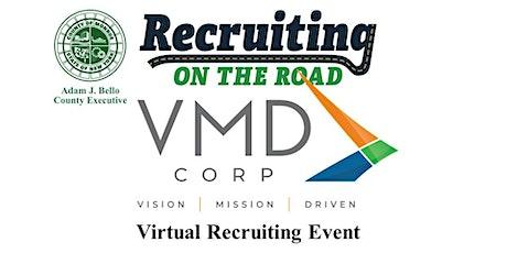 VMD Corp - Virtual Recruiting on the Road Job Fair tickets