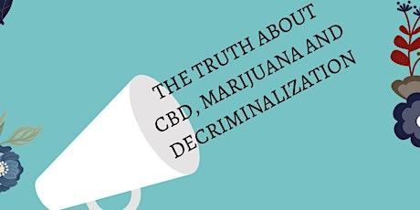 SAFE Talks -Trendy Changes: Truths About CBD, Marijuana & Decriminalization tickets
