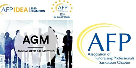 AFP Saskatoon Chapter 2020 AGM tickets