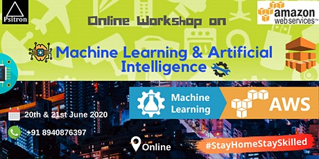 Machine Learning & Artificial Intelligence in AWS Workshop (ONLINE) tickets