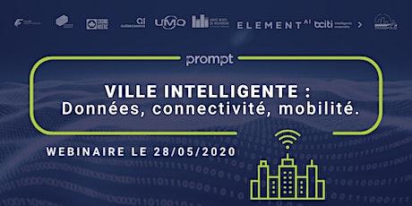 WEXPERT FRANCE-QUÉBEC 〉Ville intelligente: données, connectivité, mobilité billets