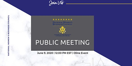 NWBC Public Meeting tickets