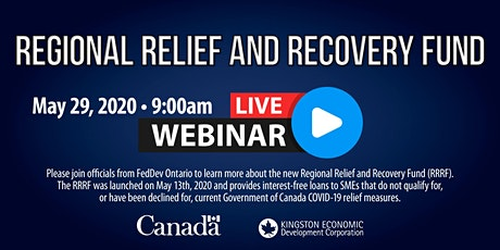 Regional Relief and Recovery Fund: Live Webinar tickets