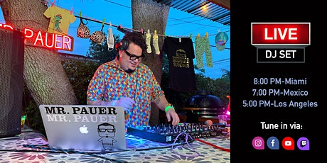 Pauerful Sundays! Mr. Pauer DJ set from his backyard! tickets