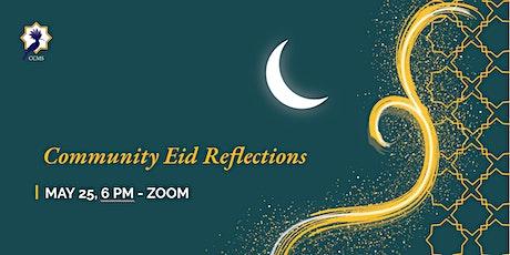 Community Eid Reflections tickets