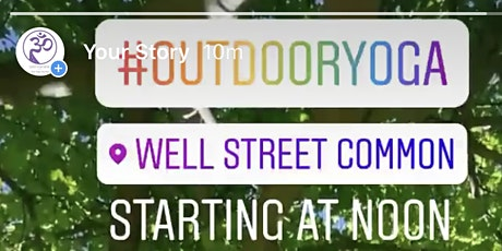 Yoga in Well Street Common tickets