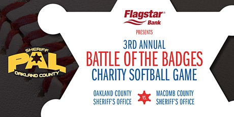 3rd Annual Battle of the Badges for Sheriff PAL (Police Athletic League) tickets