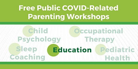 COVID-Related Workshops for NYC Parents: Education tickets