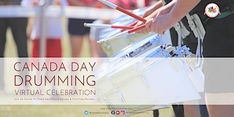 Canada Day Drumming Virtual Celebration 2020 tickets