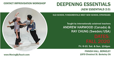 New Essentials 2.0. Deepening Intensive for Contact Improvisation practice tickets