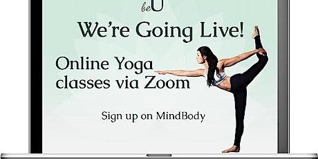 Yin Yoga and Meditation LIVE STREAM tickets