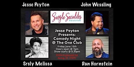 SrslyMelissa Comedy Showcase, Presented by Jesse Peyton tickets