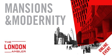 MANSIONS & MODERNITY - The Architecture of Victoria (110820) tickets