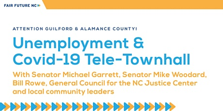 Unemployment & Covid-19 Tele-Townhall tickets