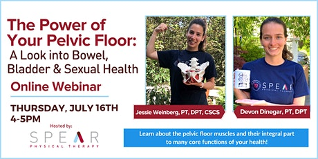 The Power of Your Pelvic Floor: A Look into Bowel, Bladder & Sexual Health tickets
