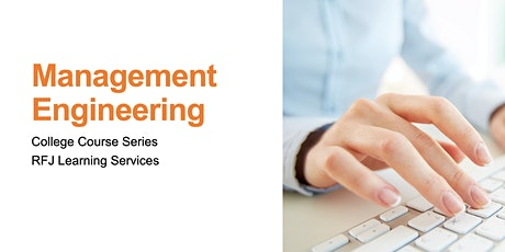 College Course Series: Management Engineering tickets