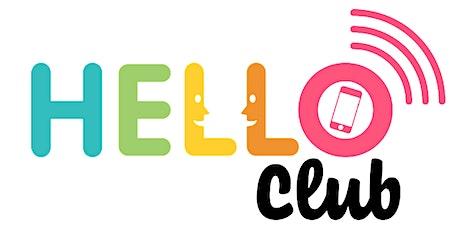 Hello Club: Social - Training tickets