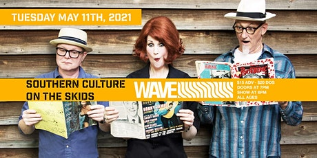 Southern Culture on the Skids w/ Dressy Bessy  live at Wave