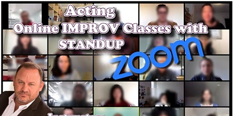 Online Acting Classes - Weekly tickets