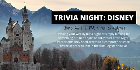 Virtual Trivia Night: Disney tickets
