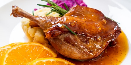 Roasted Duck Dinner | Wednesday - Saturday | delecTable at a Distance tickets