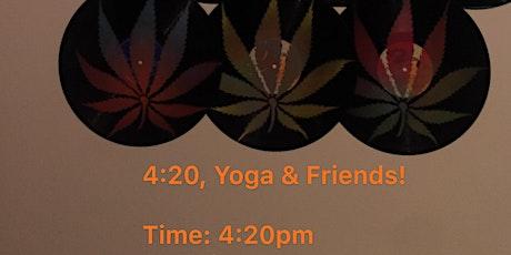 4:20, Yoga & Friends tickets