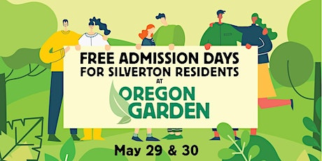The Oregon  Garden  - Silverton Resident Free Admission tickets