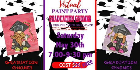 Graduation Gnome Acrylic Paint Training tickets