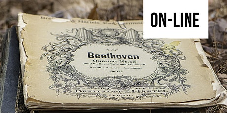 Audições Comentadas de Música Erudita | Universos musicais de Beethoven bilhetes